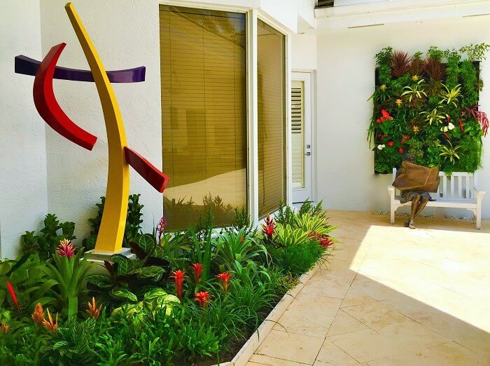 The Decor home-with -samal shade plants. (10)