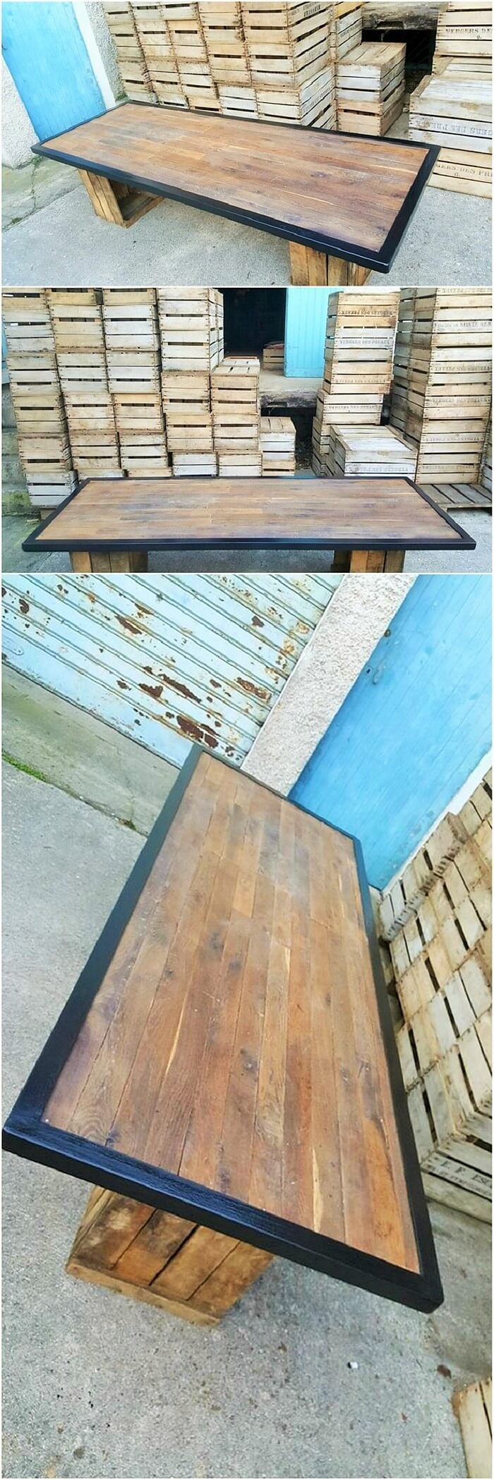 Wood-Pallet-Homemade-Furniture-Table (2)