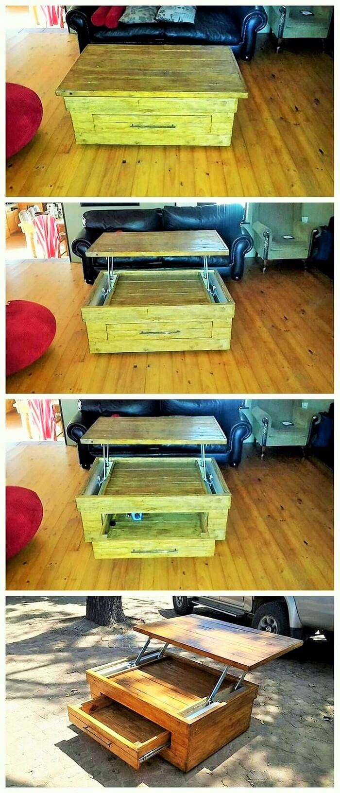 Wood-Pallet-Removeable-Table