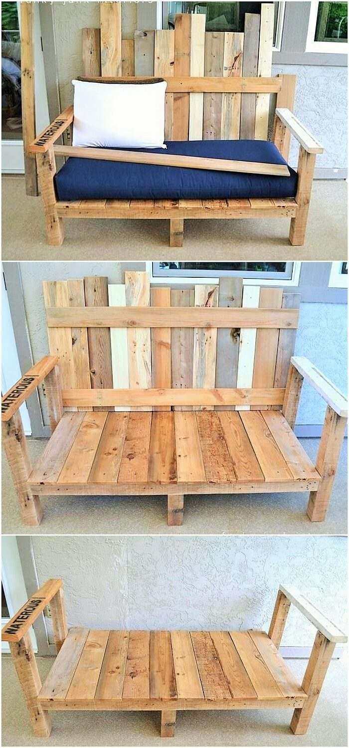 Wooden Pallets Banch