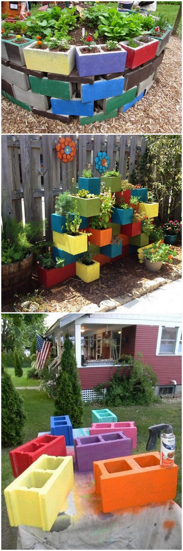 concrete-painting-ideas-planters