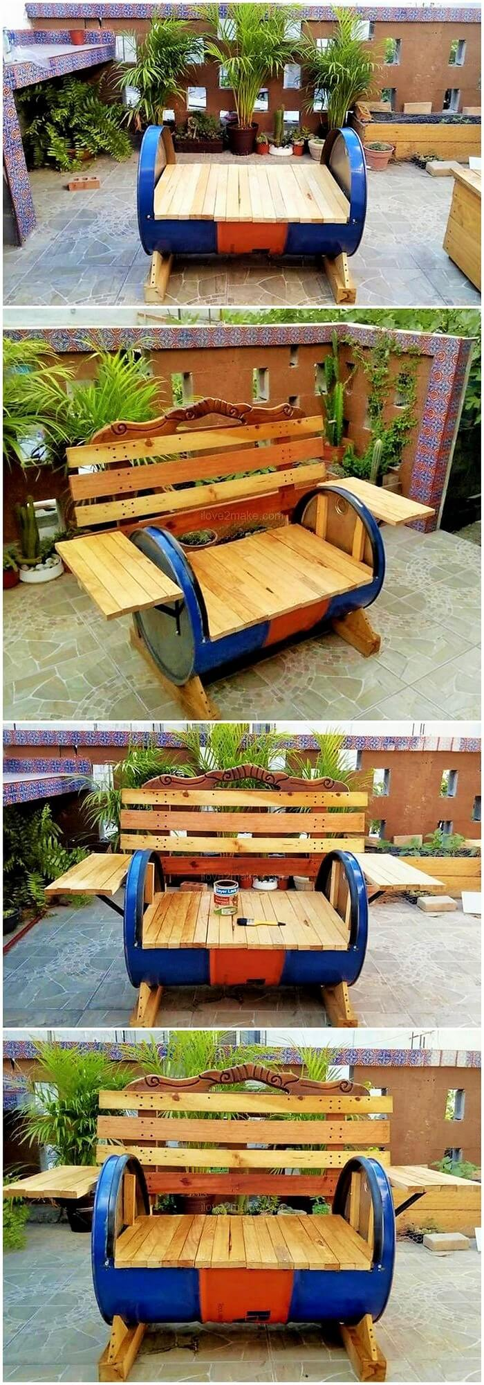 diy-pallet-sofa-with-old-drum-Projects