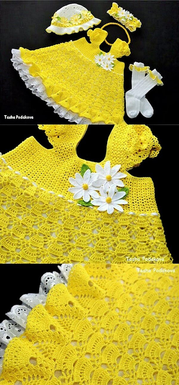 Baby-crochet-dress-yellow (2)