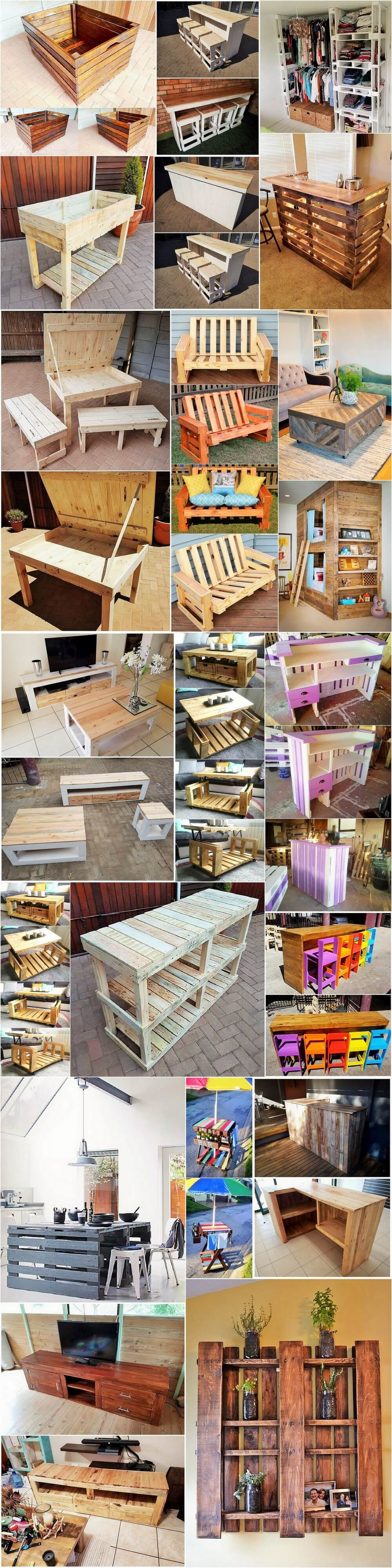 DIY Creative Ideas With Old Wood Pallets 1