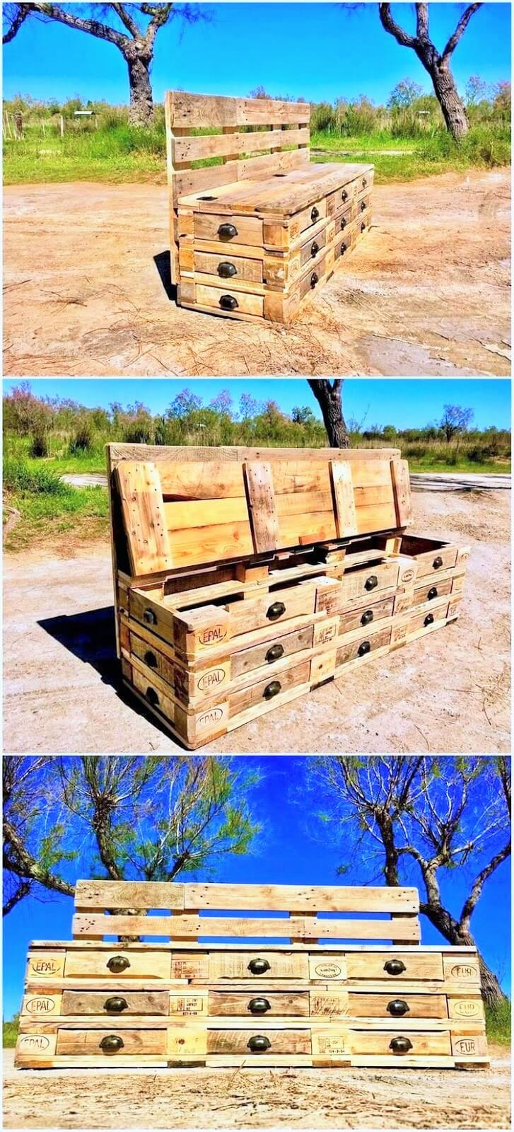 DIY Creative Ideas with Old Wood Pallets09
