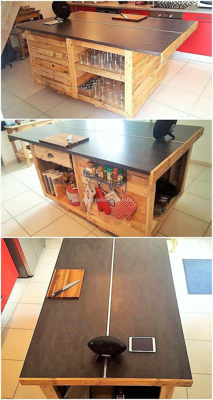 DIY-Wooden-Pallets-Small-Central-Kitchen-Island