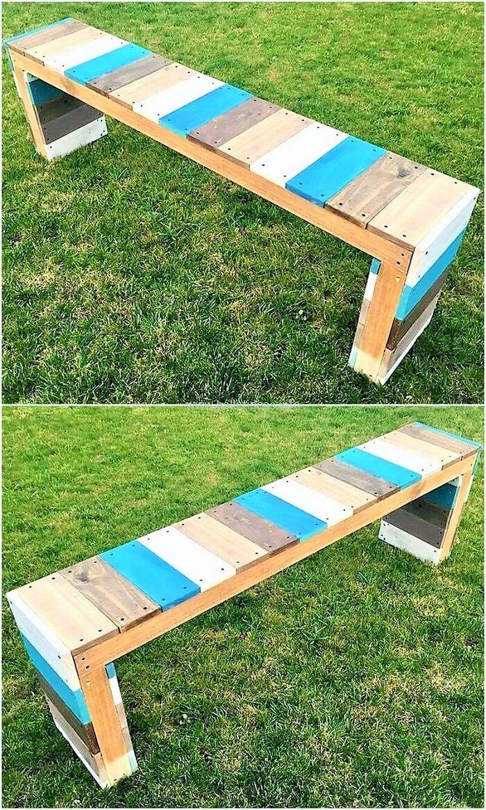 Y-Wooden-pallet-garden-bench-Ideas