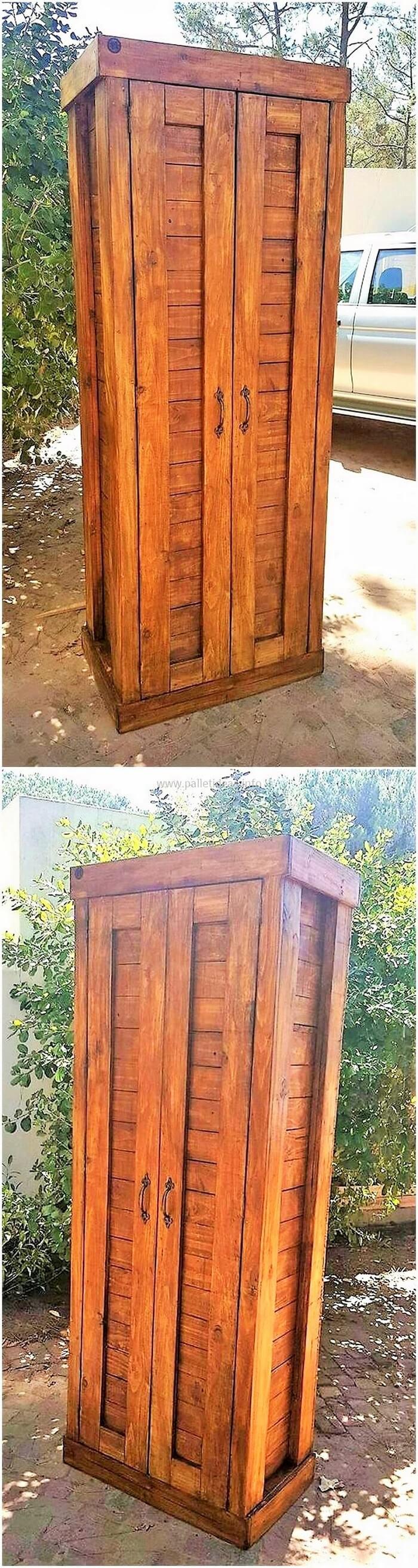 DIY-wood-pallet-closet