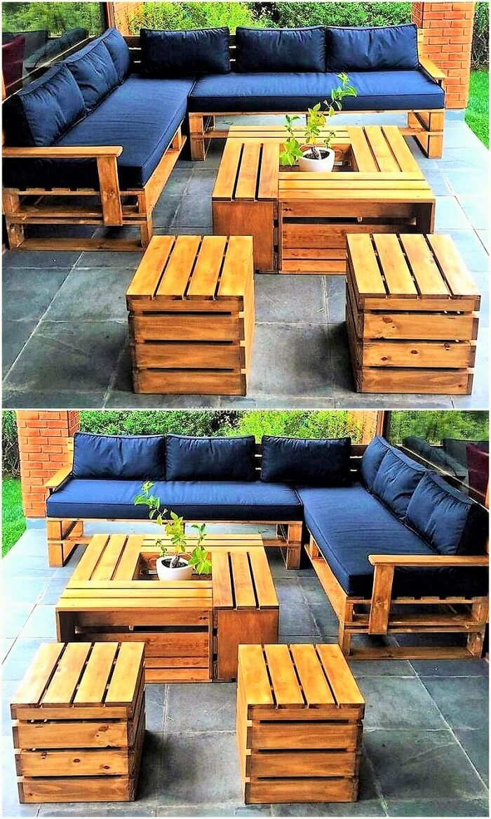 Diy-recycled-pallets-outdoor-furniture-Ideas
