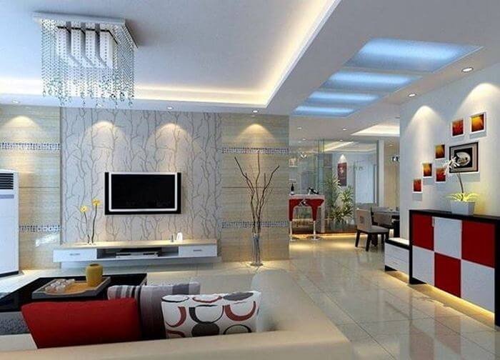 Home Decor TV lone idea