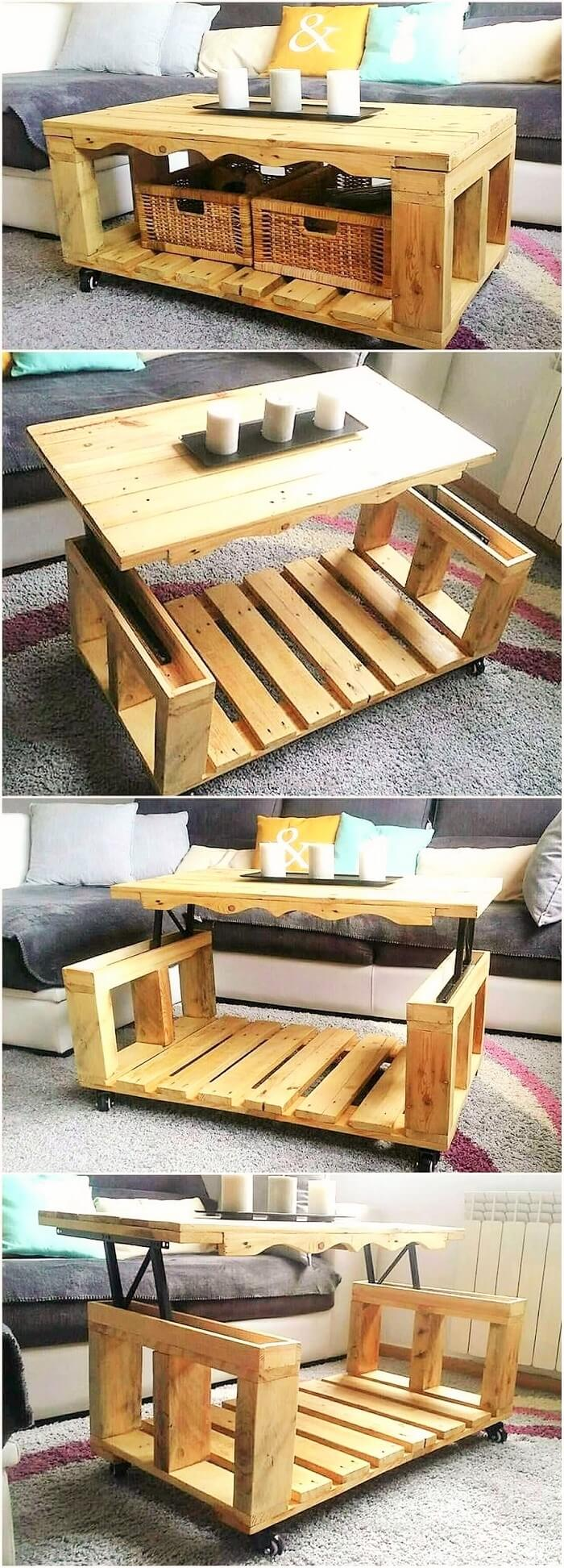 Stylish-Wood-Pallets-Lift-Top-Coffee-Table