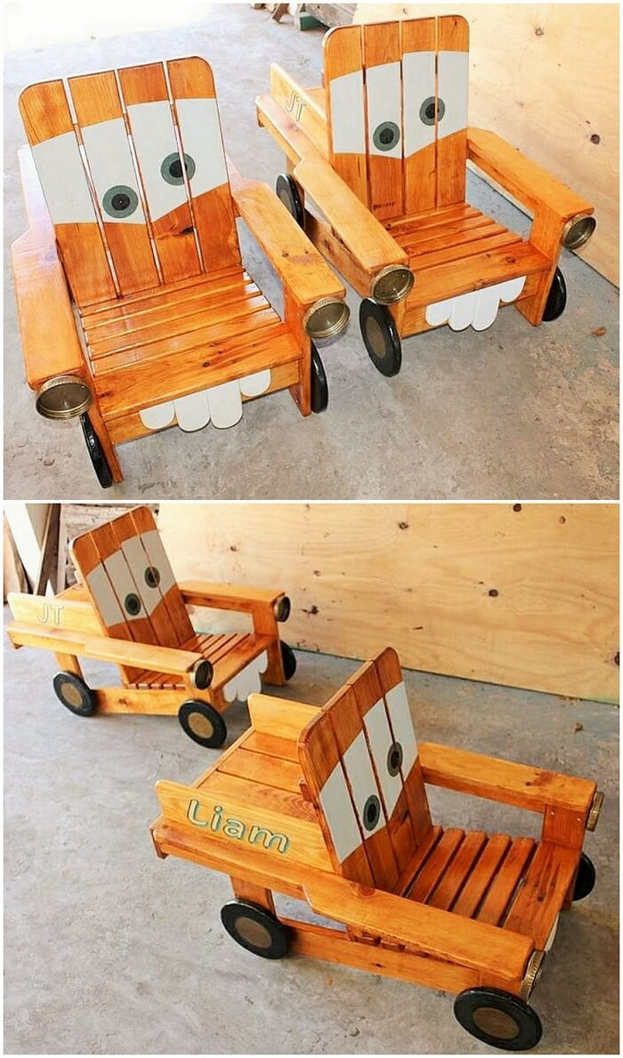 Wood working-Kids Chair