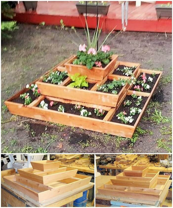 Wood working Planter Ideas