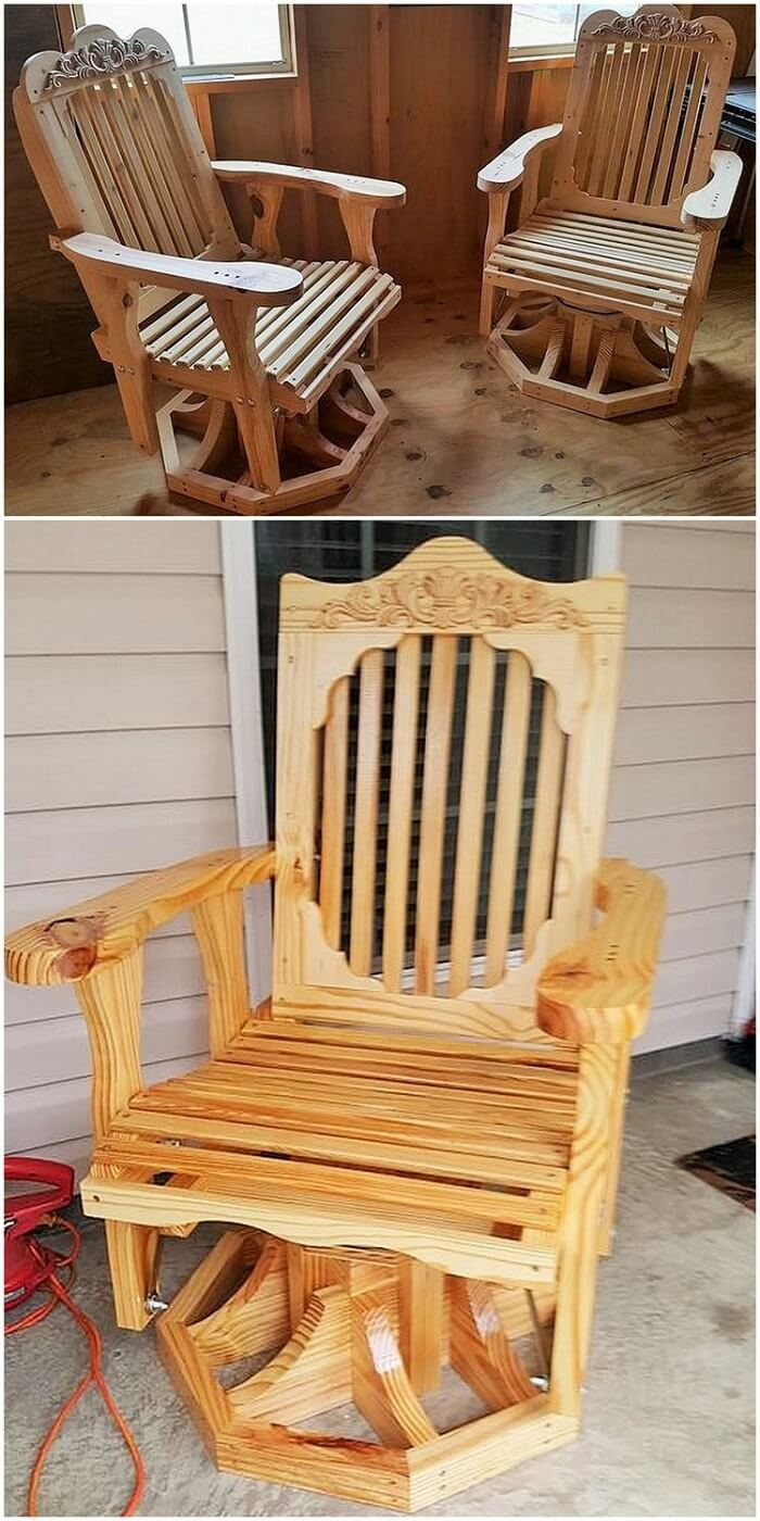 Wood working chair