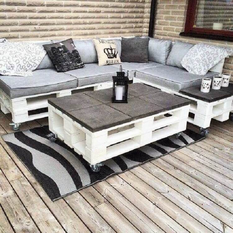 out side wooden pallets and coffee table-14