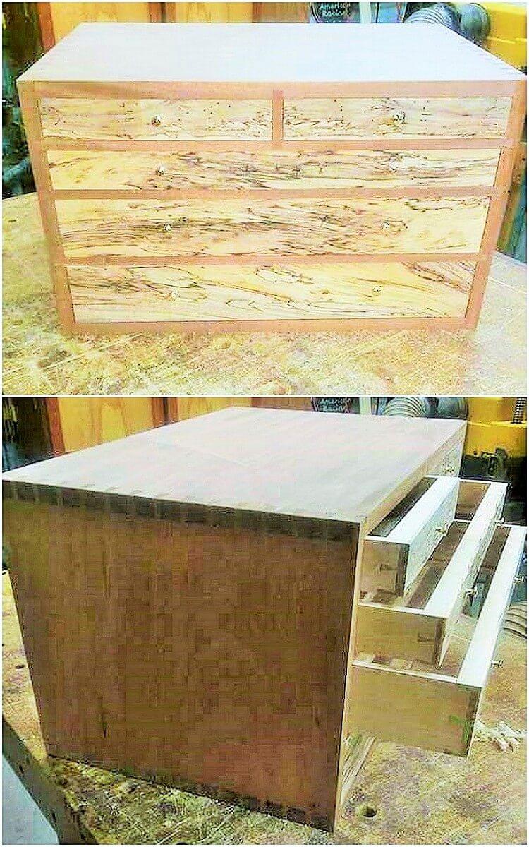 wooden larg box