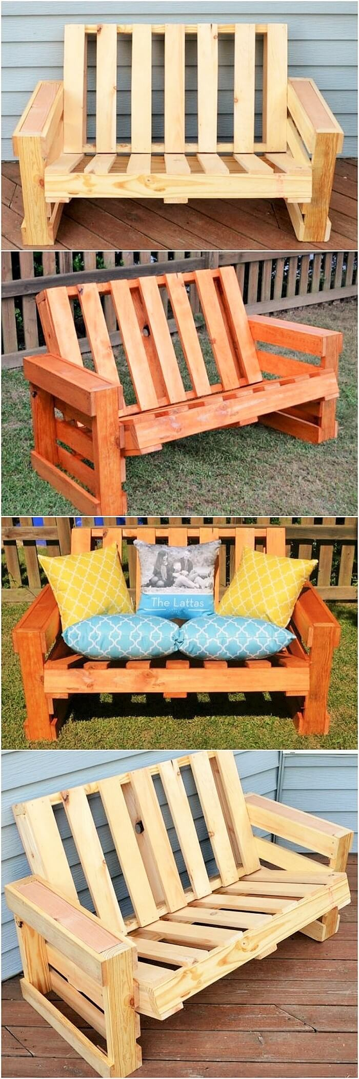 wooden-pallet-bench-for-patio-by-One-Artsy-Mama-featured