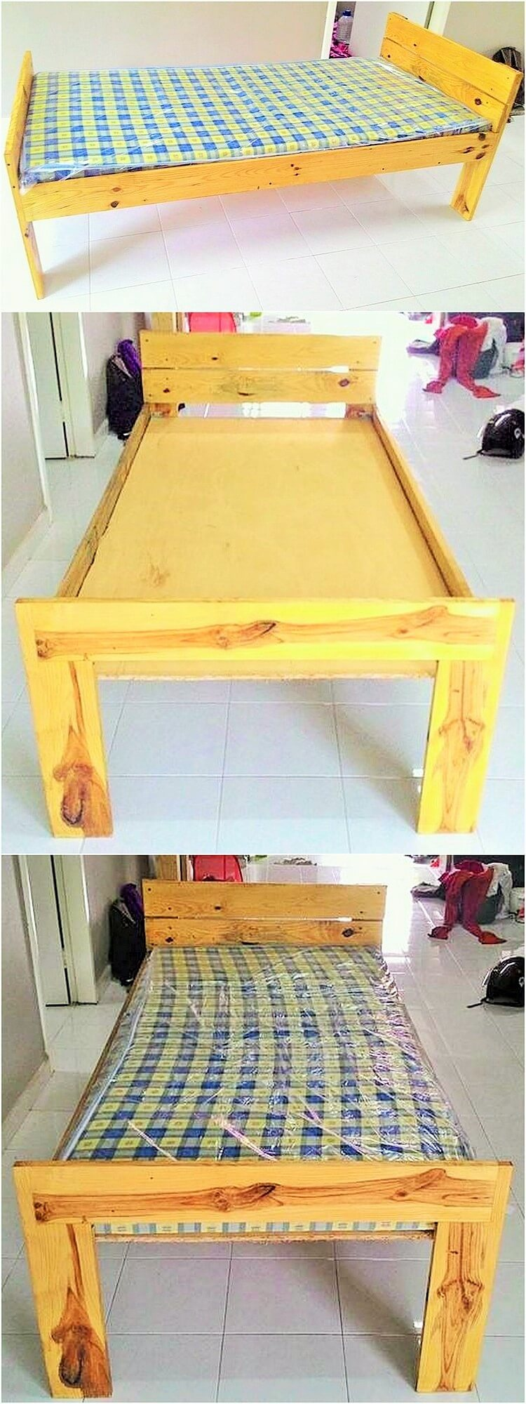 wooden-pallet-small-bed