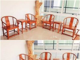 wooden setting room furniture