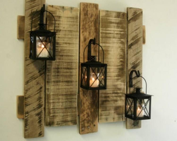 woodenpall wall lap stand