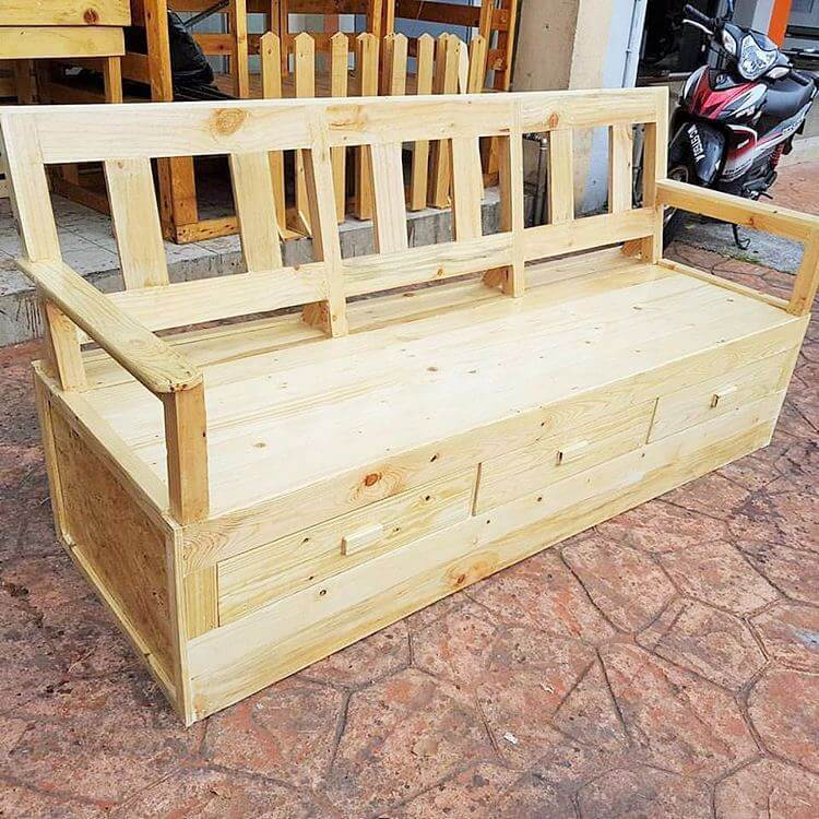 woodenpallet banch-ideas