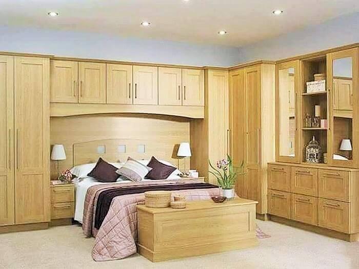 woodworking in bedroom