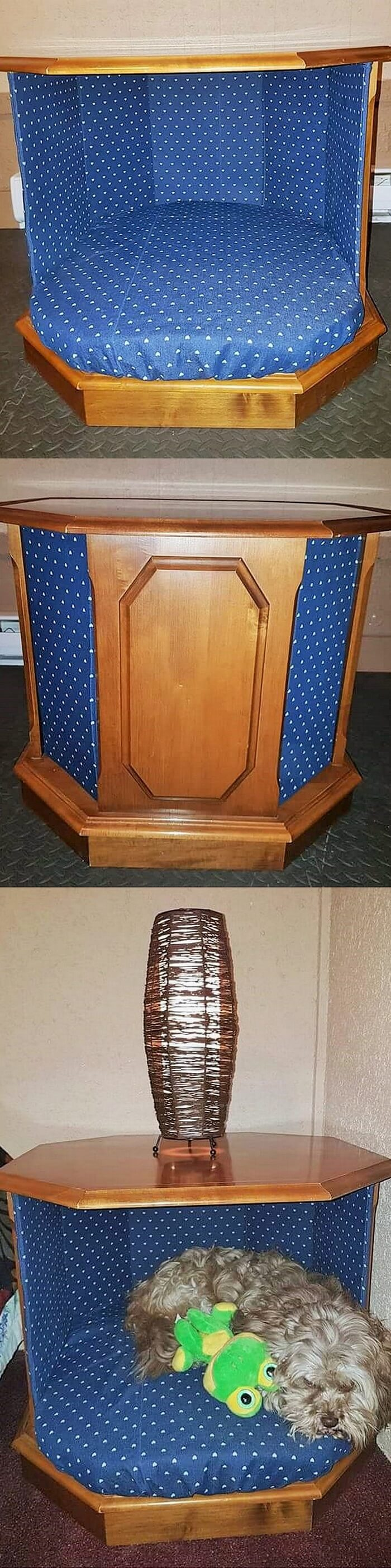 1-wooden Side Table