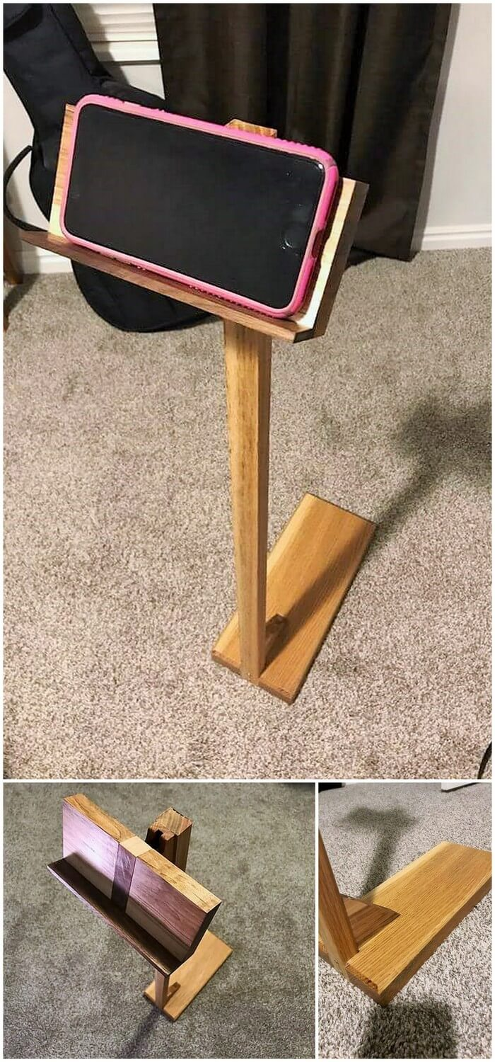 1-wooden tabe stand