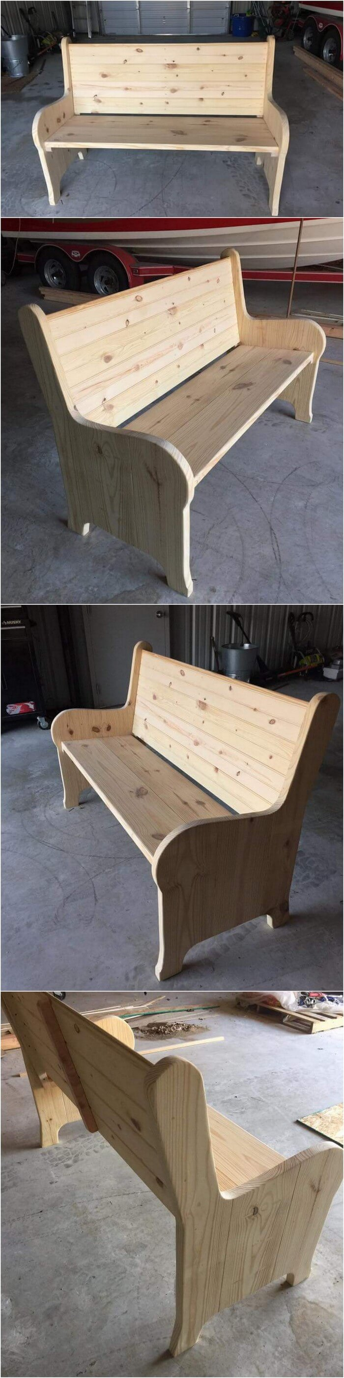 DIY- Pallet banch-Projects