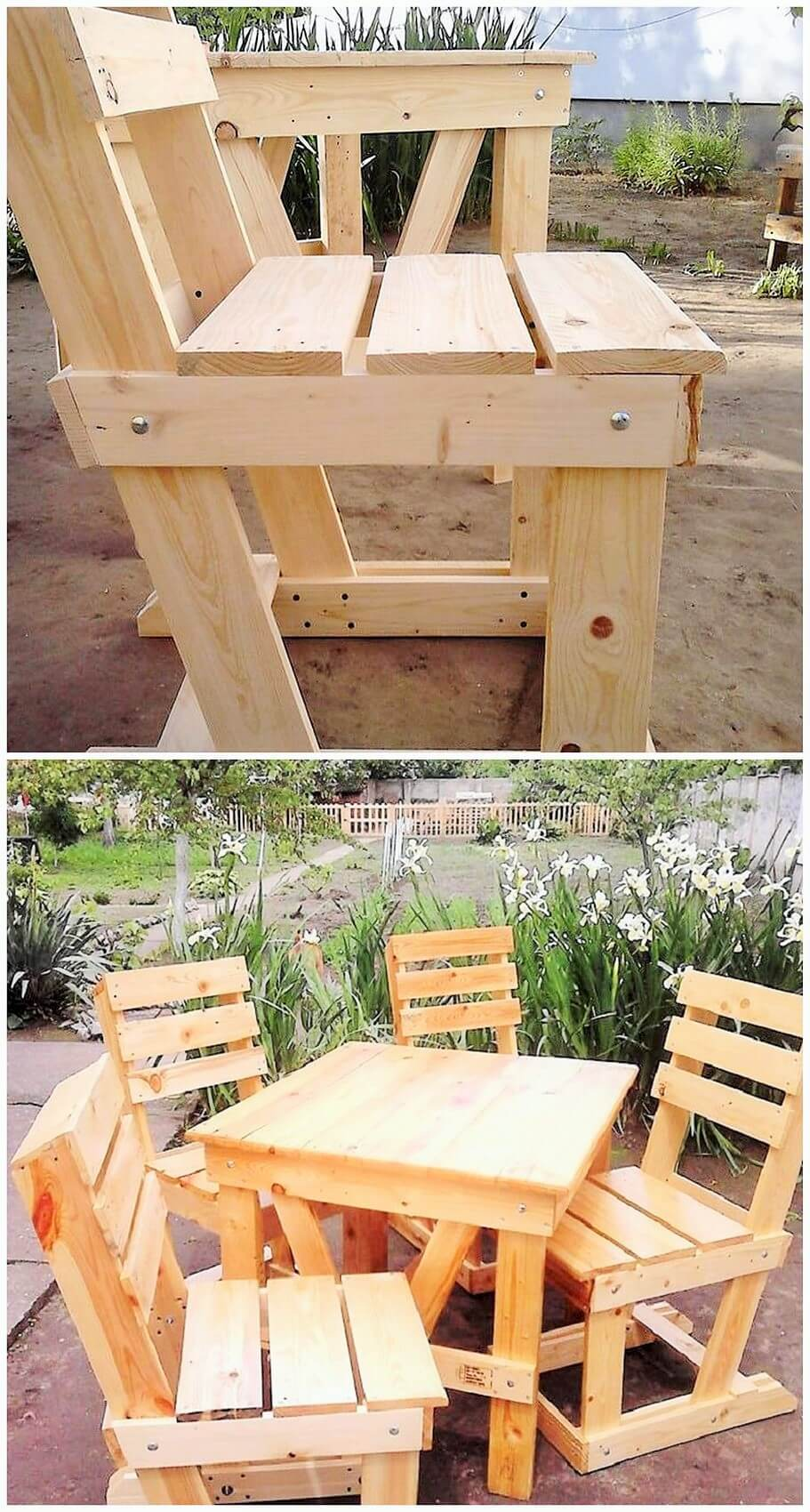 wood pallets furniture. Wooden Pallets Furniture Ideas-2 Wood H