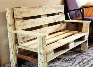 diy wooden pallet chair project 03