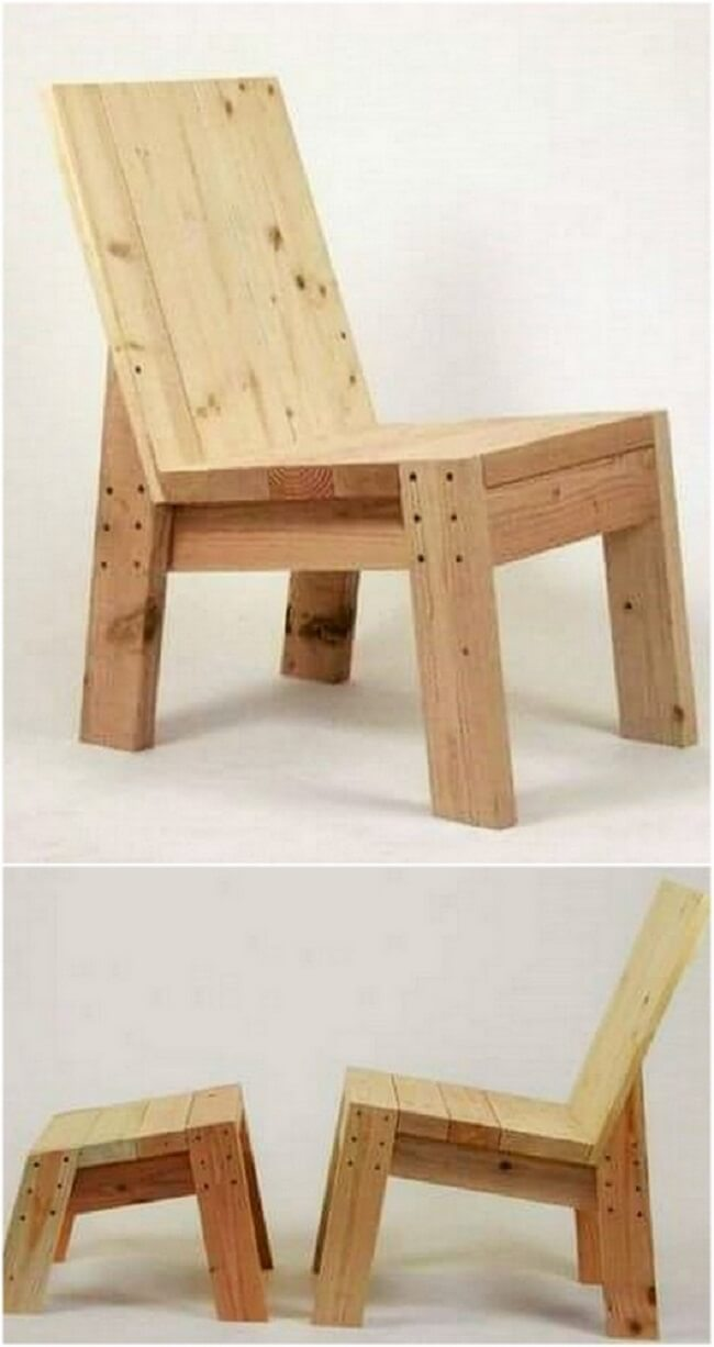 diy wooden pallet chair project-36