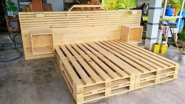 diy wooden pallet