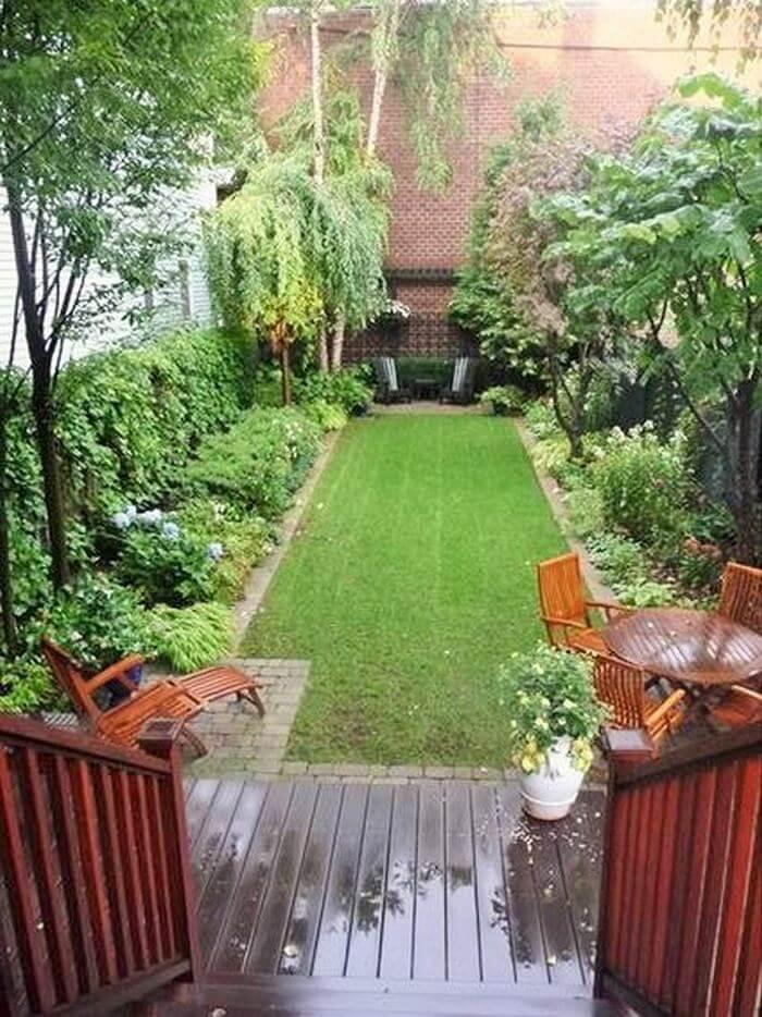 lone small garden