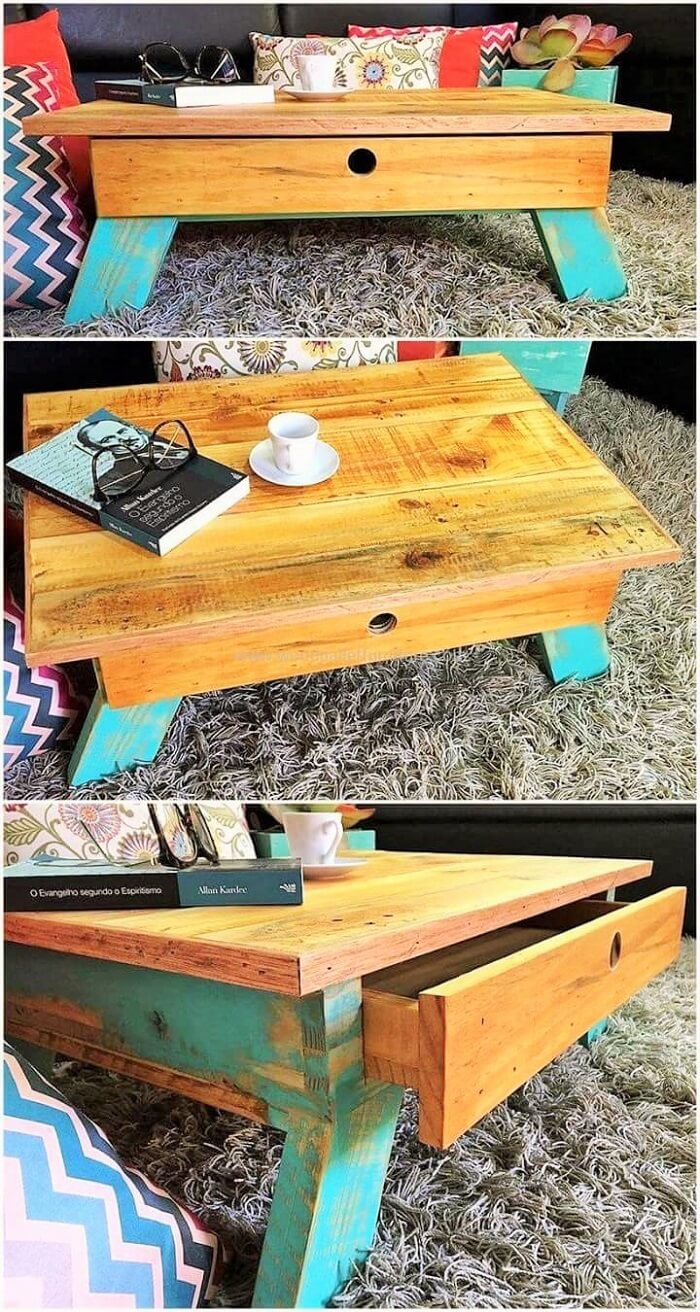 pallet coofee table