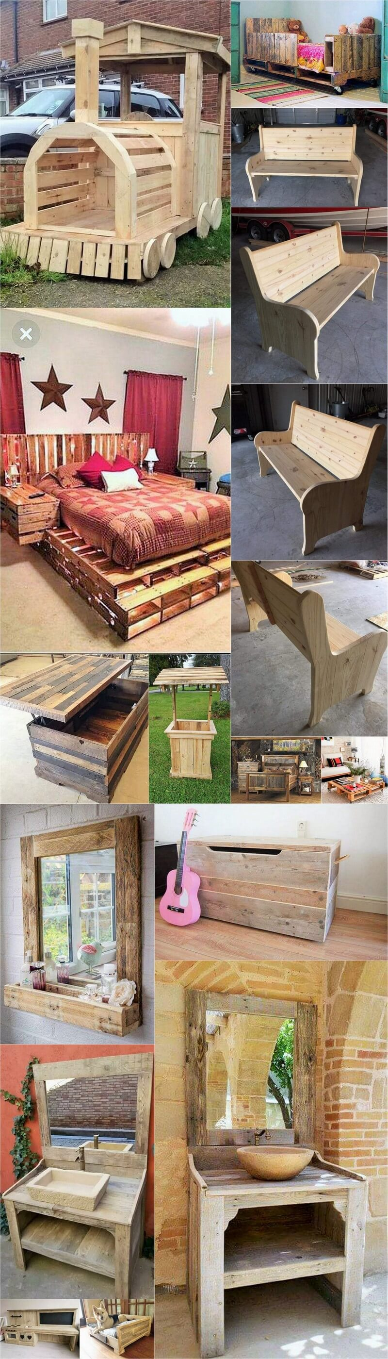 pallet furniture for sale