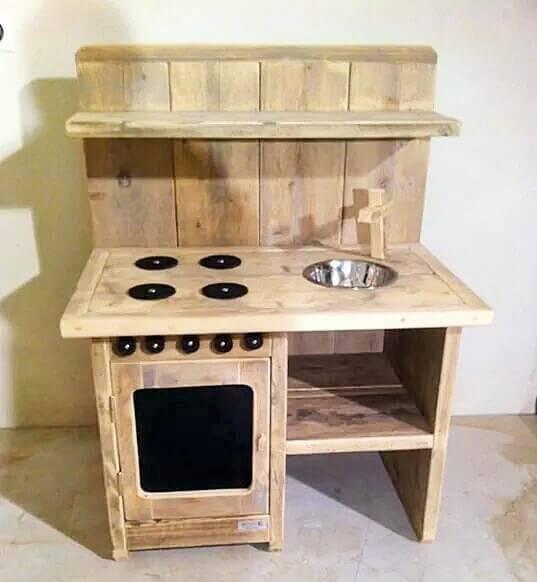 wooden bear table