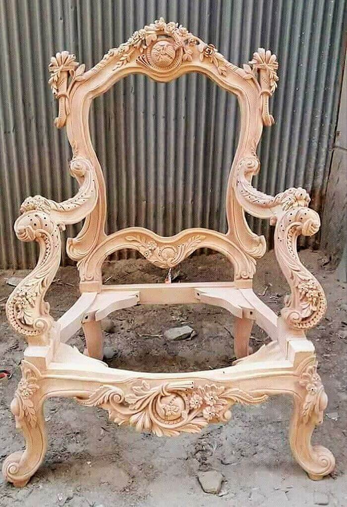 wooden beautiful chair