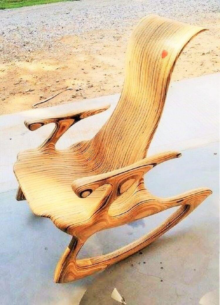 wooden chair diy