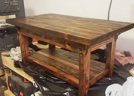 wooden dining table (2)