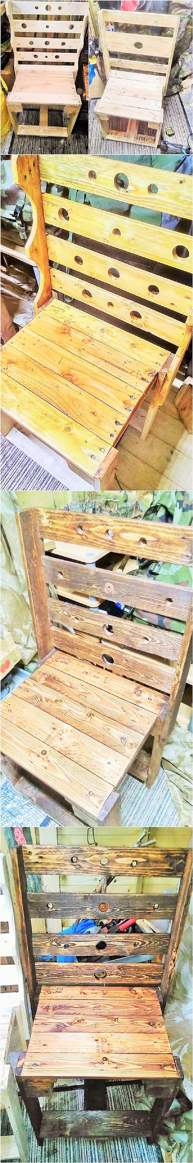 wooden pallet Diy chair