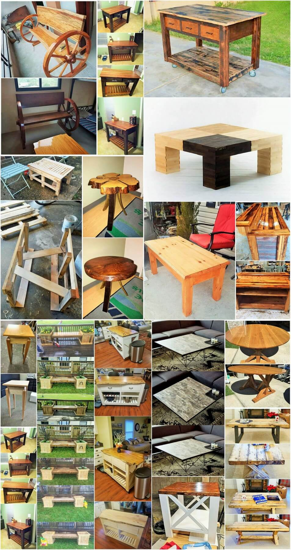 Wooden Banach projects