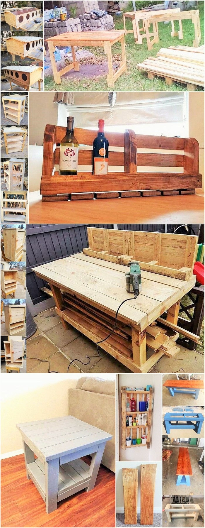 Old-Pallet- Diy-Recycle-Things-Projects 00