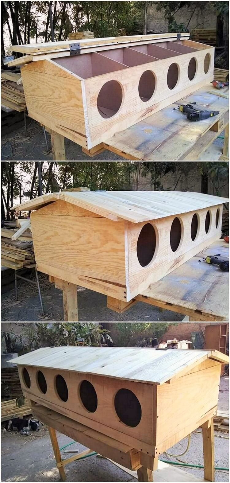 Old-Pallet- Diy-Recycle-Things-Projects-20