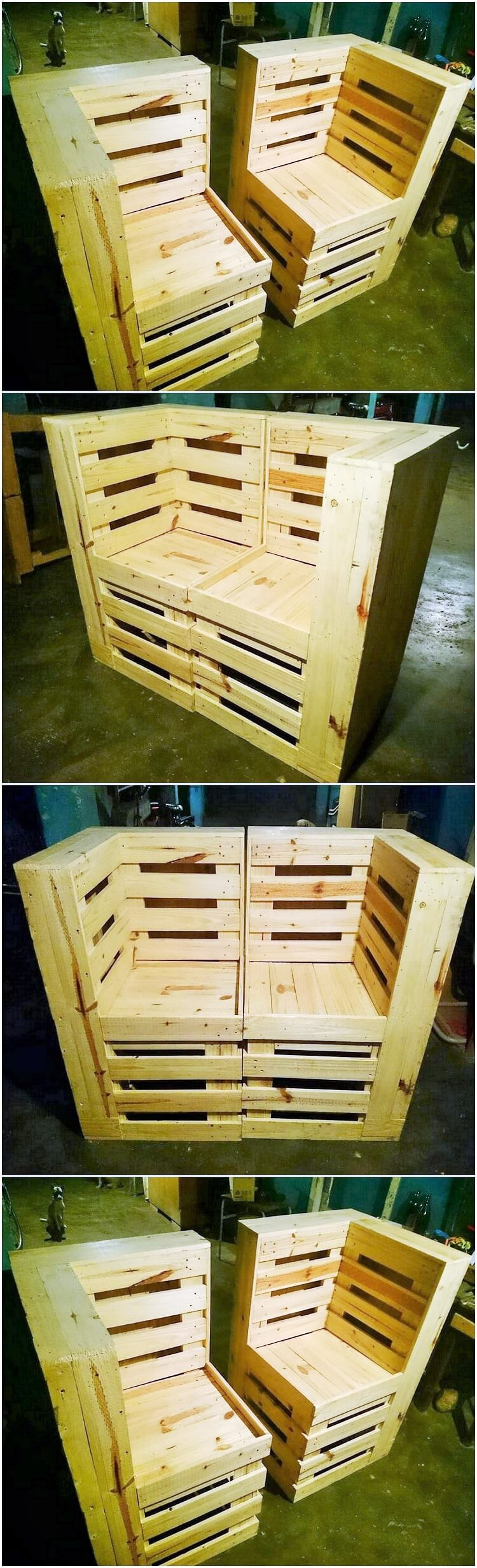 Old-Pallet- Diy-Recycle-Things-Projects-23