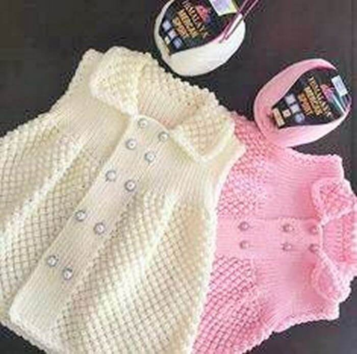 crochet baby cloth idea