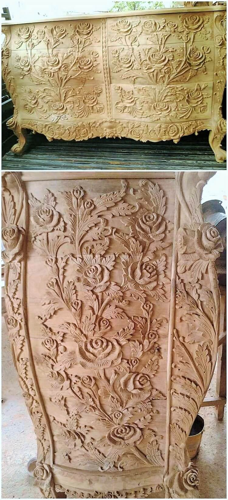 wooden decor item