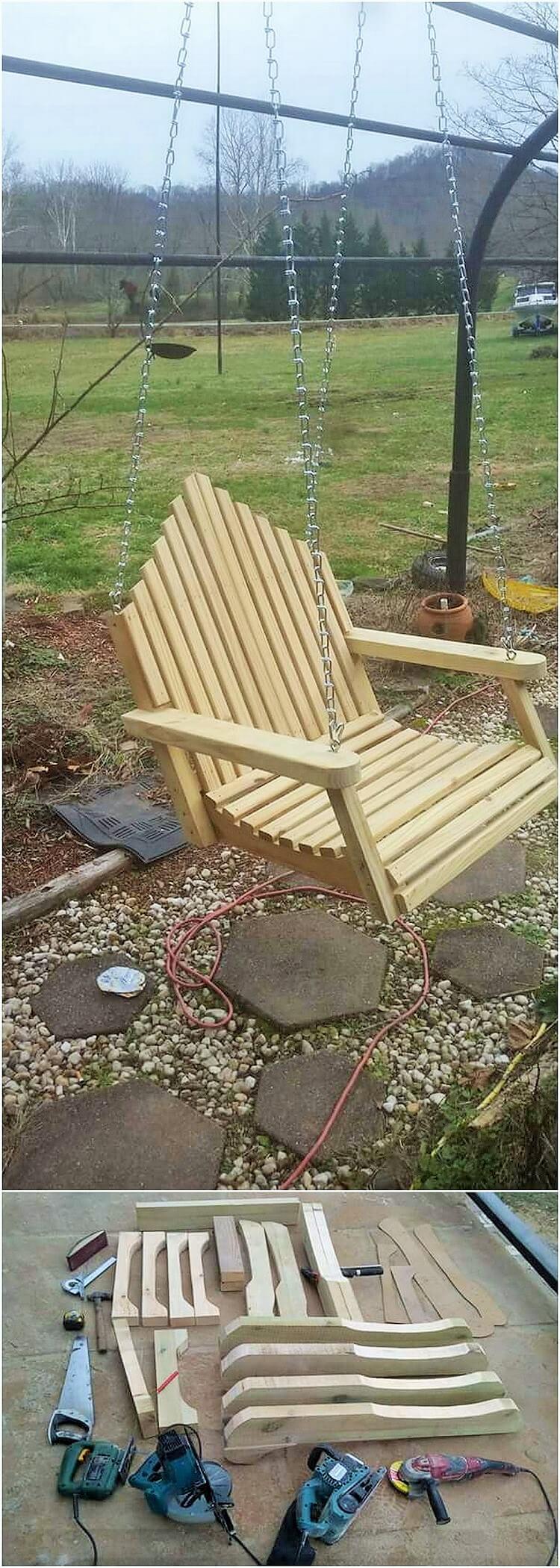 wooden garden craft