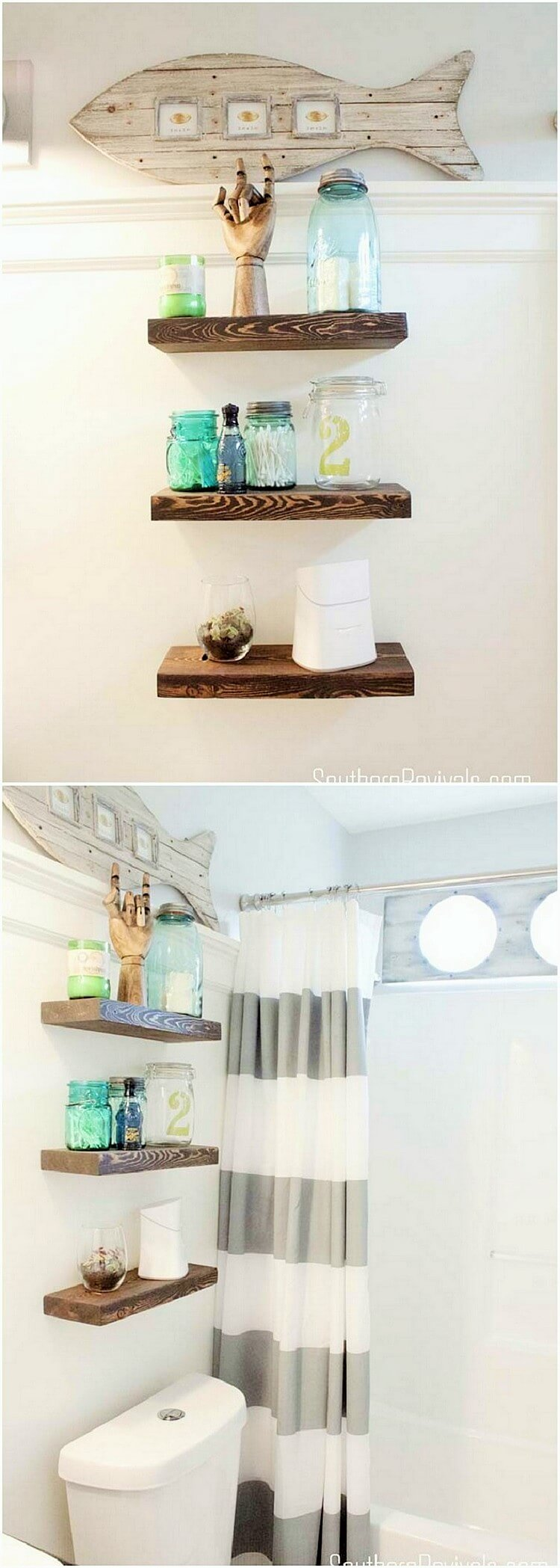 wooden home decor
