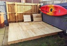 wooden pallet bed ideas